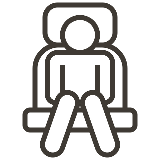 accessories, automobile, car, chair, service icon