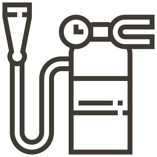 accessories, automobile, car, extinguisher, fire, service icon