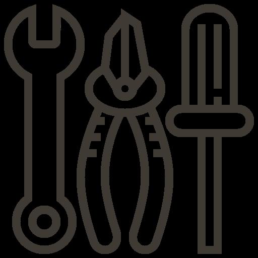accessories, automobile, car, equipment, repair, service, tool icon