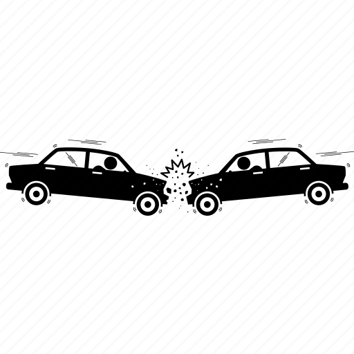 car, crash icon