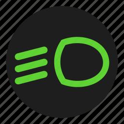 beam, dashboard, head, light, low, main icon