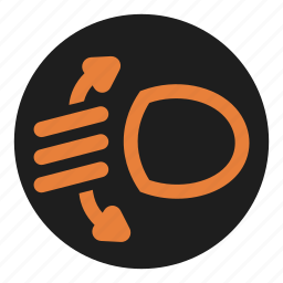 dashboard, height, level, light, regulate icon