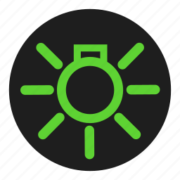 dashboard, day, light, side icon