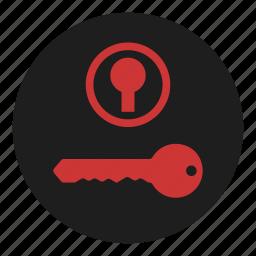 dashboard, ignition, key, start, switch, up, warning icon