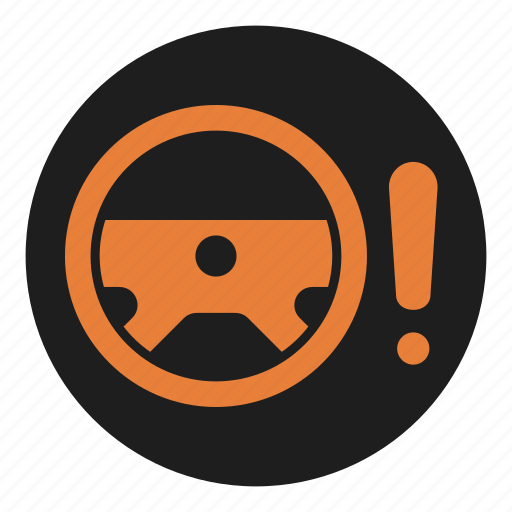 assist, dashboard, fault, power, problem, steering, wheel icon