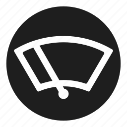 dashboard, glass, screen, wind, window, wiper icon