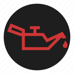 dashboard, level, oil, pressure icon