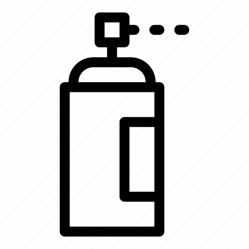 aerosol, car, cleaning, insecticide, miscellaneous, repair, spray icon