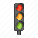 adjustment, car, color, light, traffic, transport, travel icon