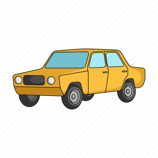 auto, automobile, car, retro, transport, transportation, vehicle icon