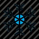 frozen, mode, snow, winter icon
