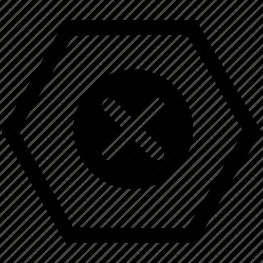 browser, cancel, close, delete, operation icon