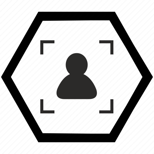 Objective, photo, frame, camera, focus icon