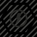 camera, lighting, photo, shock icon
