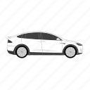 auto, car, cars, modelx, tesla, vehicle, vehicles