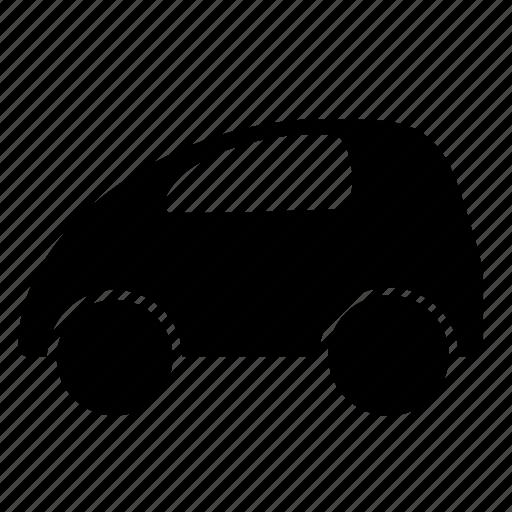auto, car, city, mini, woman icon
