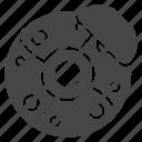 brake, car, disc icon