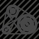 car, engine, part, vehicle