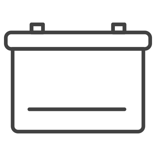 battery, car battery icon