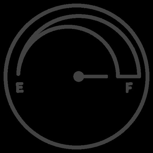 fuel, fuel full, gas, gasoline, gauge, meter, tank icon