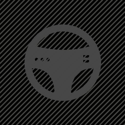 auto, car, cars, parts, steering, steering wheel icon