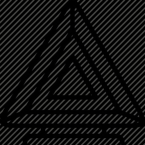 cars, equipment, failure, repair, warning, warning triangle, yumminky icon