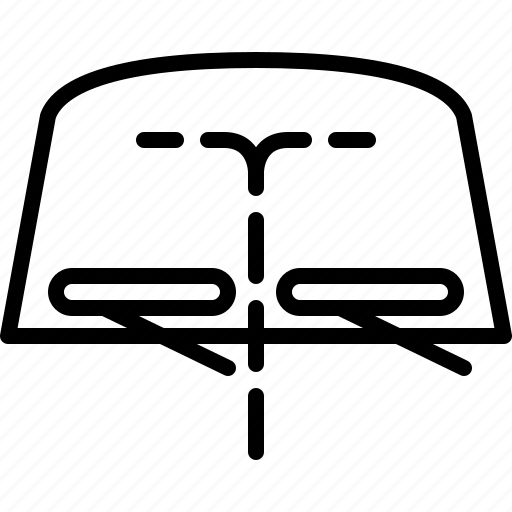 cars, cleaning, screenwash, windshield, wipers, yumminky icon