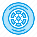 car, part, tire, wheel icon