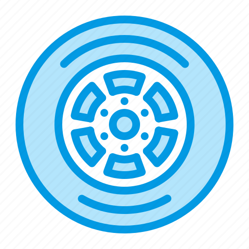 car, part, tire, wheel icon