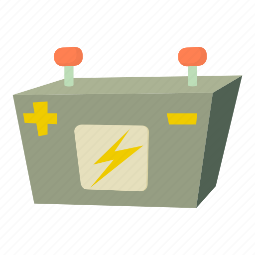 Acid Automotive Car Battery Cartoon Electric Fuel