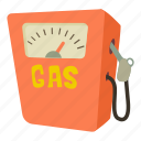 cartoon, diesel, fuel, gas, gas station, petrol, tank icon