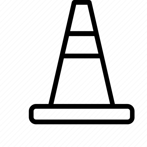 Cone, danger, sign, traffic, warning icon - Download on Iconfinder