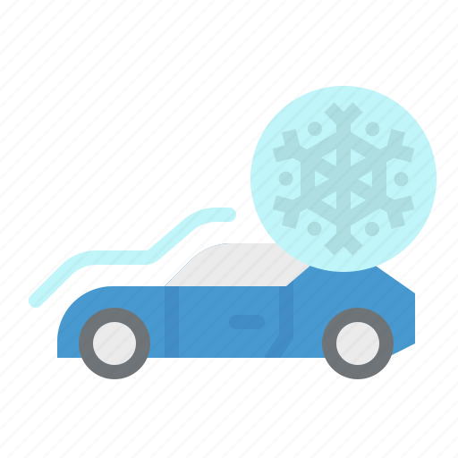 air, car, conditioner, freeze, snowflake icon