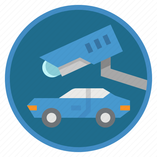 camera, car, cctv, security, system icon