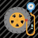 air, car, pump, tire, wheel