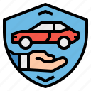 business, car, contract, insurance, security icon