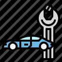 car, maintenance, professions, repair, transportation icon