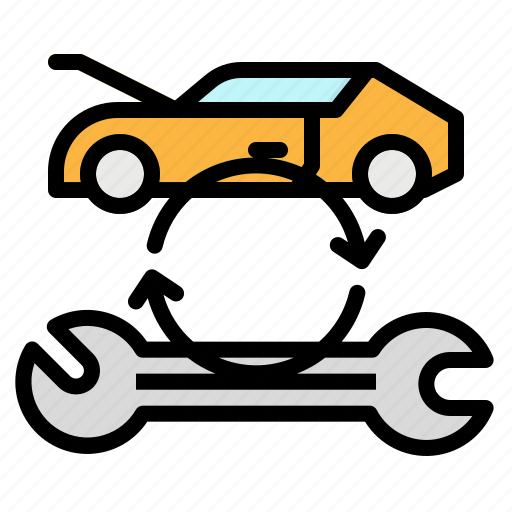 Car, repair, service, transportation, wrench icon - Download on Iconfinder