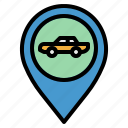 gps, location, placeholder, pointer, taxi