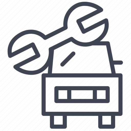 car, maintenance, transport, transportation, vehicle icon