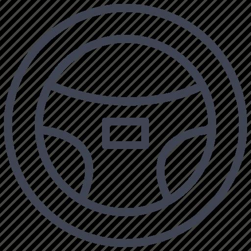 car, steering, transport, transportation, vehicle, wheel icon