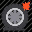 car, service, vehicle, tire icon