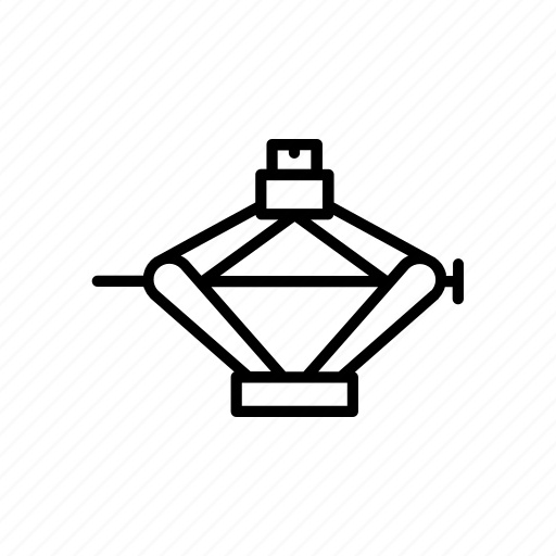 Car, service, emergency jack, jack, vehicle, truck, automobile icon - Download on Iconfinder