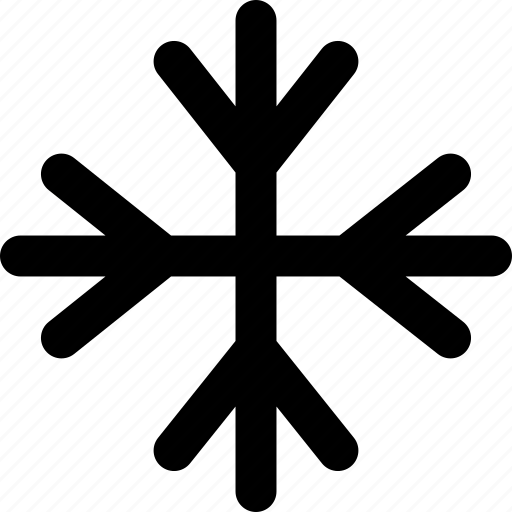 climate, cold, control, frost, snowflake icon