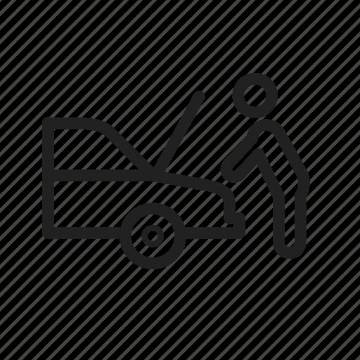 auto, car, engine, mechanic, mechanical, repair, vehicle icon