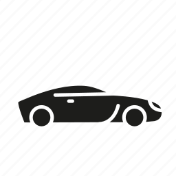 automobile, car, motor car, ride, transportation, vehicle icon