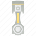 automotive, cylinder, engine, mechanic, piston icon