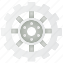 car, gearbox, machine, part, sprocket icon