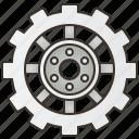 car, gearbox, machine, part, sprocket icon