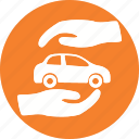 automobile, car, garage, servicing, transport, vehicle icon